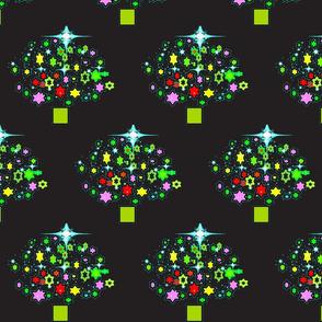 Starry Christmas/Black