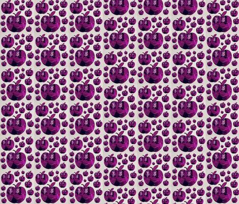 Purple Ambrosia fabric by stephaniecolecreations on Spoonflower - custom fabric