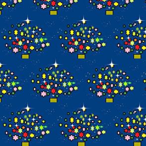 Starry Christmas/Deep Blue