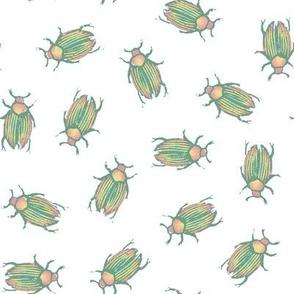 pastel spring beetles
