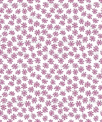 Gerberas in Old Rose - Macro Florals in Old Rose