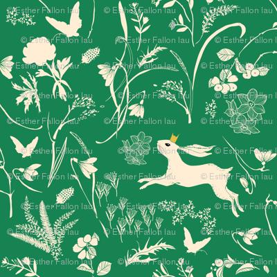 Enchanted Bunny Prince (emerald) MED