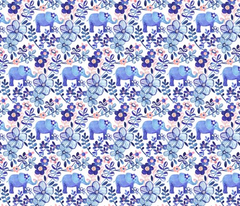 Rserenity_elephant_and_blue_floral_pattern_base_spoonflower_shop_preview