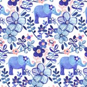 Rserenity_elephant_and_blue_floral_pattern_base_spoonflower_shop_thumb