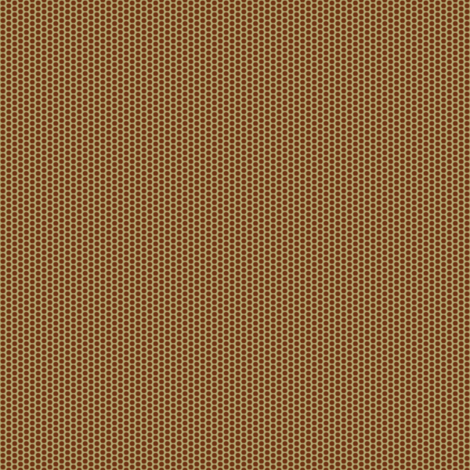 Pollen Dots - Fawn on Chocolate Fudge fabric by rhondadesigns on Spoonflower - custom fabric