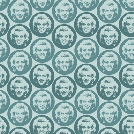 Marilyn#5 fabric by susiprint on Spoonflower - custom fabric