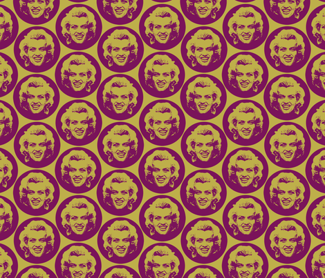 Marilyn#4 fabric by susiprint on Spoonflower - custom fabric