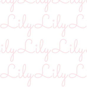 personalized girly print