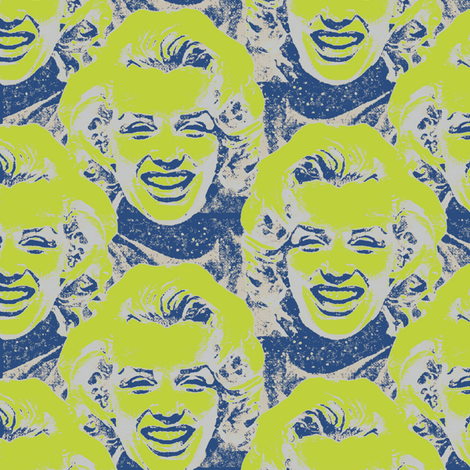 Marilyn#11 fabric by susiprint on Spoonflower - custom fabric