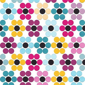 Floral Dots (Velvet)