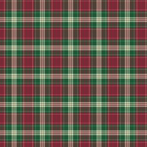 Vintage Christmas Plaid