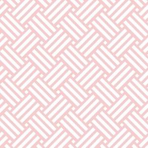 Geometric Basket Weave - Blossom