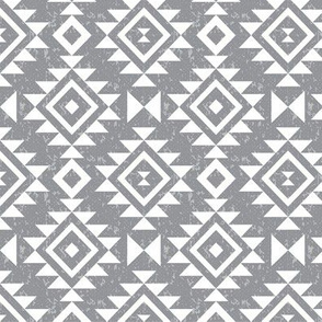 Textured Aztec - Whisper
