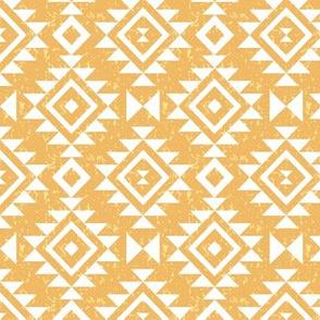 Textured Aztec - Gold