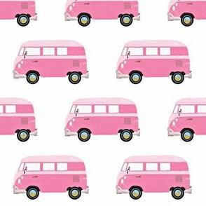 Retro Van // Pink