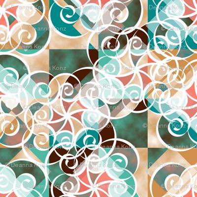 Diamond Swirls