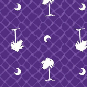 Clemson_Palmetto_Tree_Print_Purple