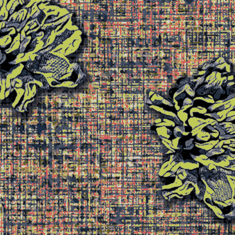Marilyn flower #1 fabric by susiprint on Spoonflower - custom fabric
