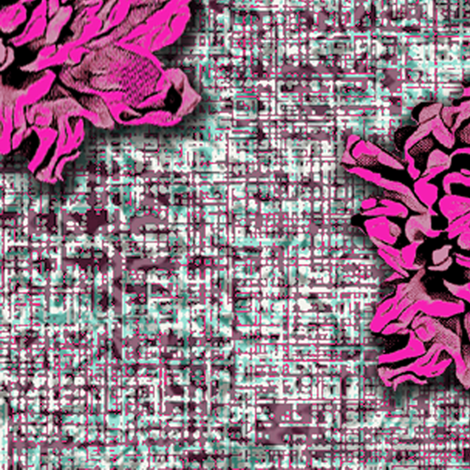 Marilyn Flower#2 fabric by susiprint on Spoonflower - custom fabric