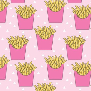 french-fries-with-pink-box on pink