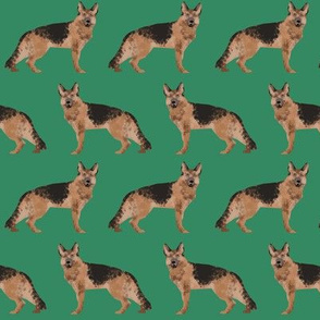 german shepherd dog cute green dog fabric for german shepherd owners sweet dogs dog fabric dogs pets