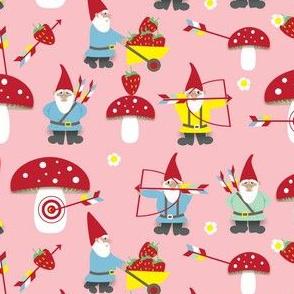 naughty gnomes ©2016 Jill Bull