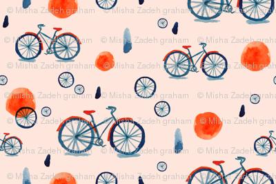 Misty Bicycle -- Blush