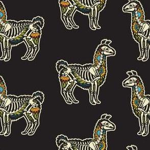 Llama skeleton