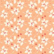 Modern Holly: Peach