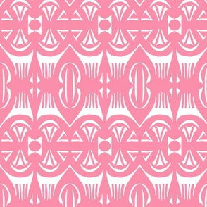 Tropical Drum Print - Pink