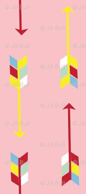 gnome arrow pink©2016 jill bull