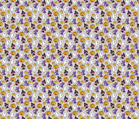 Hello Quirky Halloween fabric by helloquirky on Spoonflower - custom fabric