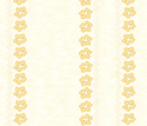 Polynesian Princess  Bottom - Baby Scale fabric by ellegarrettdesigns on Spoonflower - custom fabric