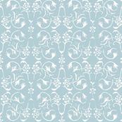 Vintage Belle - Light Blue Grey