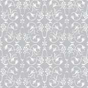 Vintage Belle - Grey Marl