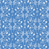 Vintage Belle - Blue Marl