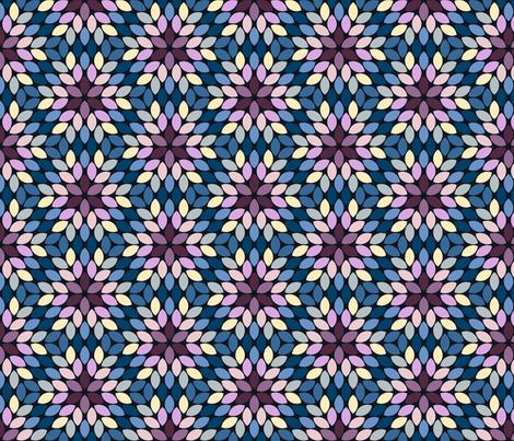 05620925 : R6R lens 4 : twilight hydrangea fabric by sef on Spoonflower - custom fabric