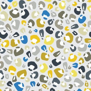 Cheetah blues and yellows