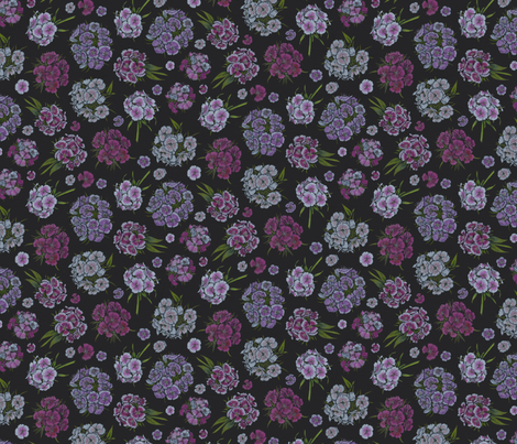 Dianthus fabric by blairfully_made on Spoonflower - custom fabric