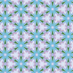 blue stripe flower