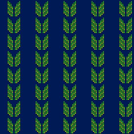 8bithawk_1_sm fabric by nerdmeup on Spoonflower - custom fabric