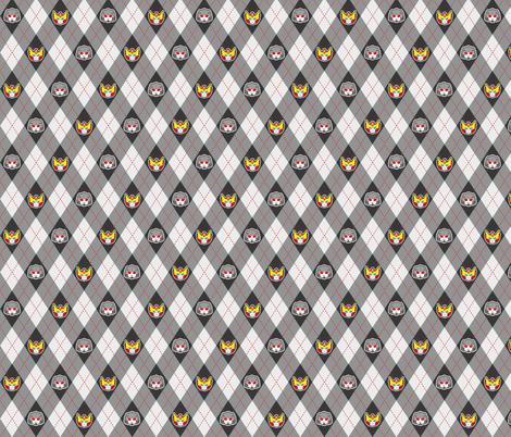 Megs/Rod fabric by kaysiel on Spoonflower - custom fabric