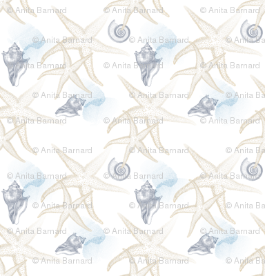 starfish_2_beige_white_seamless_blue_coral_conch_shell_tiled