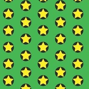 Stars in Spots gold