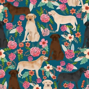 labrador florals yellow lab chocolate lab black lab cute dog dogs best floral labrador print