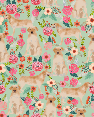 labrador florals sage green lovely light green fabric florals labrador fabric yellow labrador retriever fabric