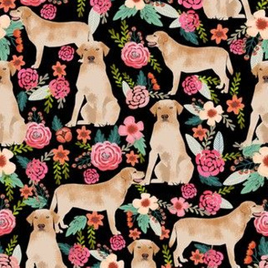 labrador fabric cute florals dog fabric cute yellow labrador retriever fabric for dog owners