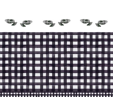 cestlaviv_lootbags_fawnsnow_buffalo fabric by @vivsbeautifulmess on Spoonflower - custom fabric