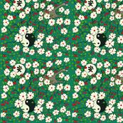 Tranquility Japanese  Ying yang garden green