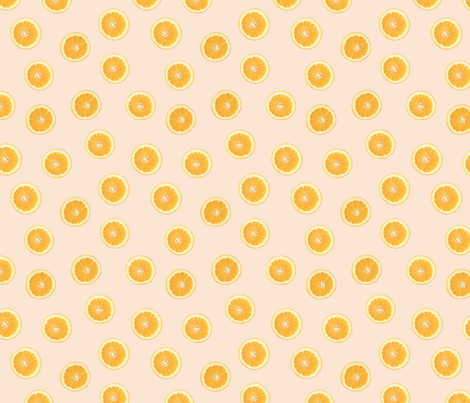 ORANGES fabric by kindofstyle on Spoonflower - custom fabric
